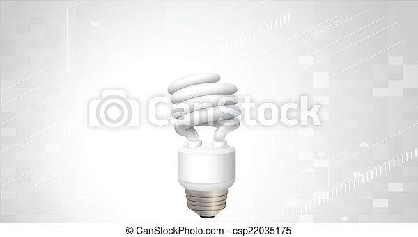 A light bulb - csp22035175