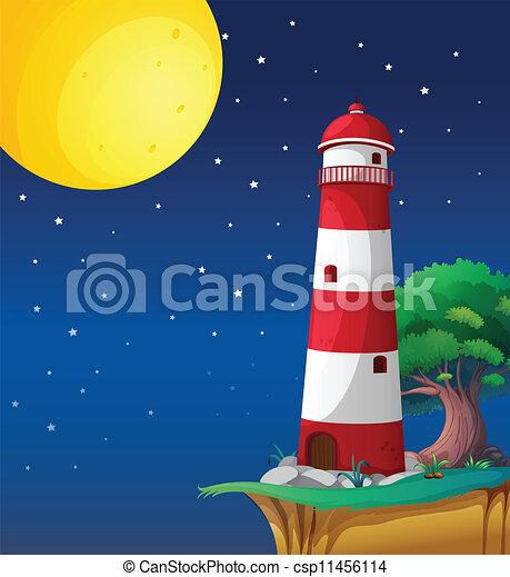 a light house - csp11456114