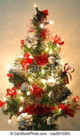 a little christmas tree - csp5910363