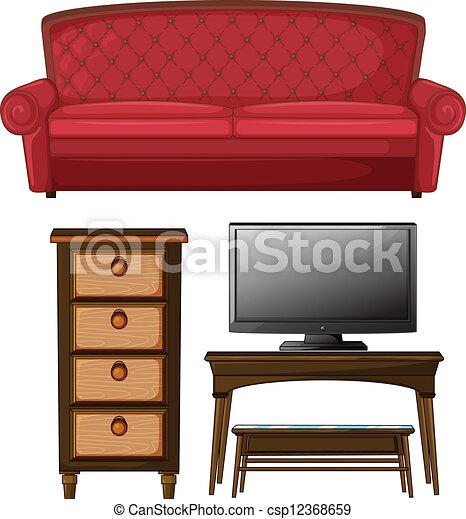 A Living Room Set