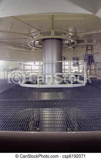A long shaft rotating. - csp6192071