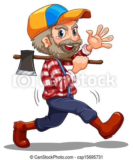 A lumberjack - csp15695731
