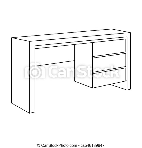 Small Table Outline 10