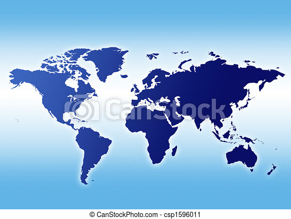 A map of the world - csp1596011