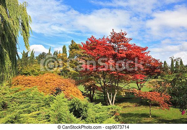 A masterpiece  - Sigurta Park in northern Italy - csp9073714