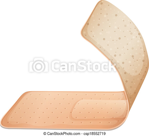 A medical plaster - csp18552719