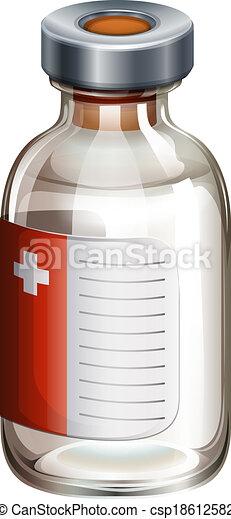 A medical vaccine - csp18612582