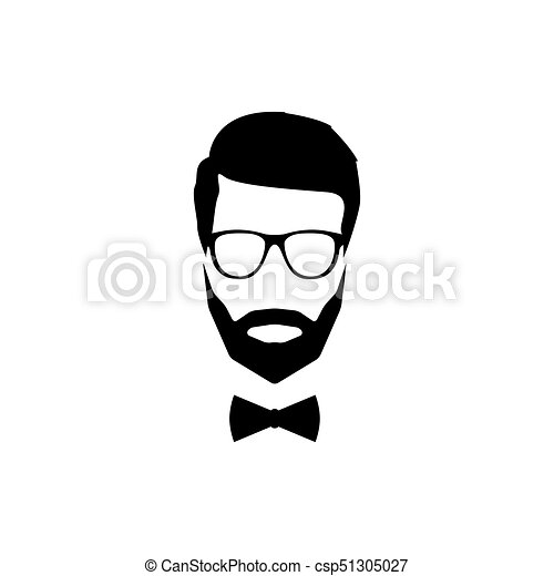 a modern avatar of a gentleman with a beard glasses and a bow tie