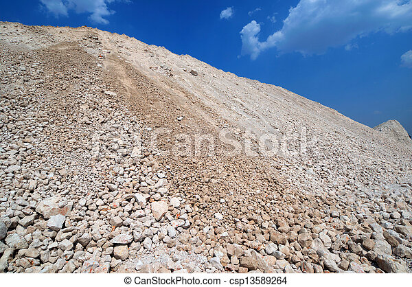 a mound of clay - csp13589264