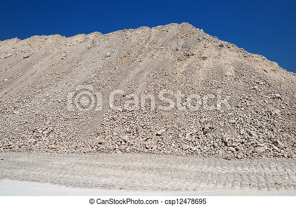 a mound of clay - csp12478695