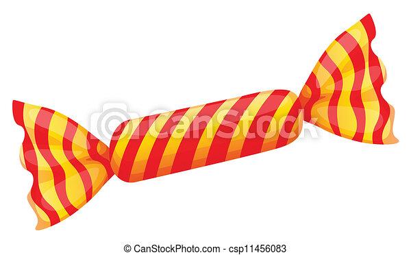 a orange candy - csp11456083