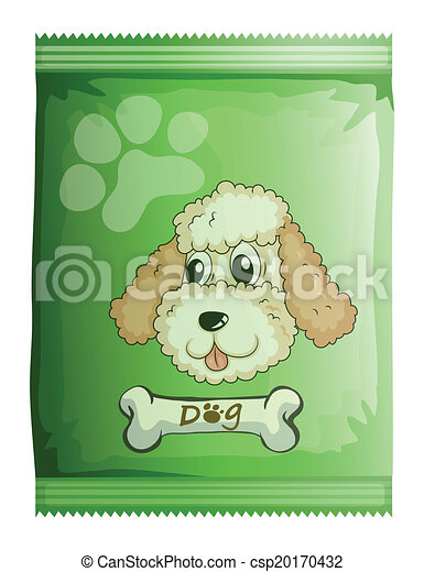 A pack of dog food - csp20170432