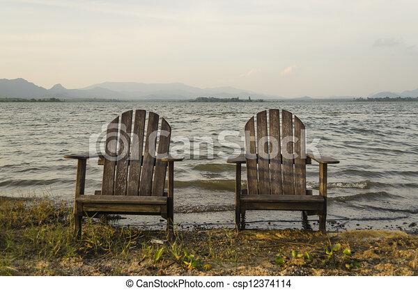A pair of chair - csp12374114