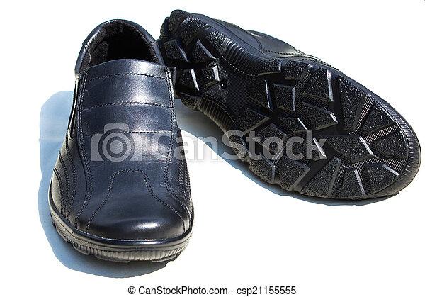 a pair of men's shoes - csp21155555