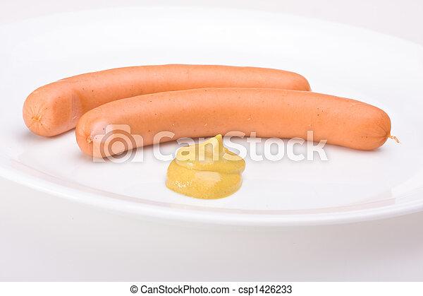 a pair of wieners - csp1426233