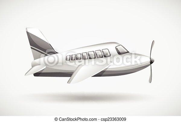 A passenger plane - csp23363009