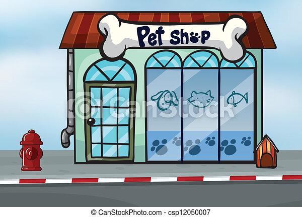 A pet shop - csp12050007