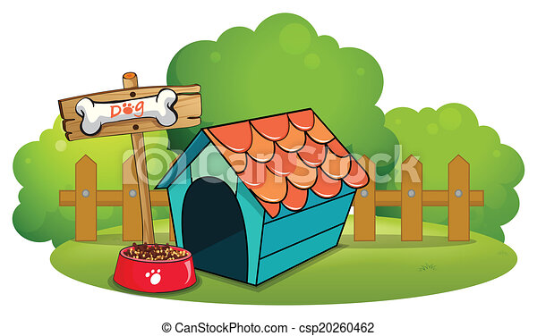 A pethouse near the fence - csp20260462