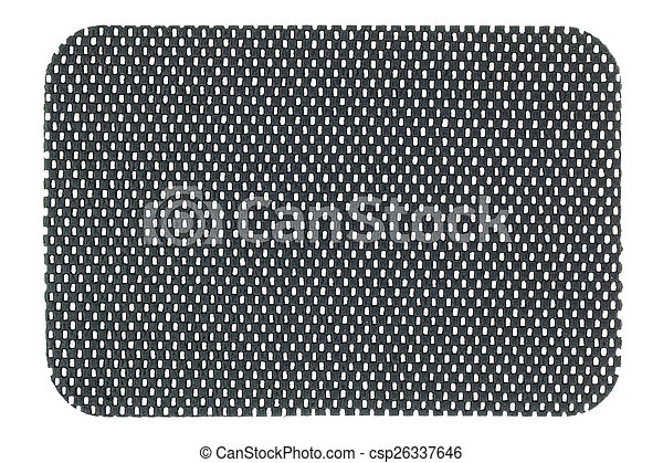 A piece of Gray anti slip mat - csp26337646