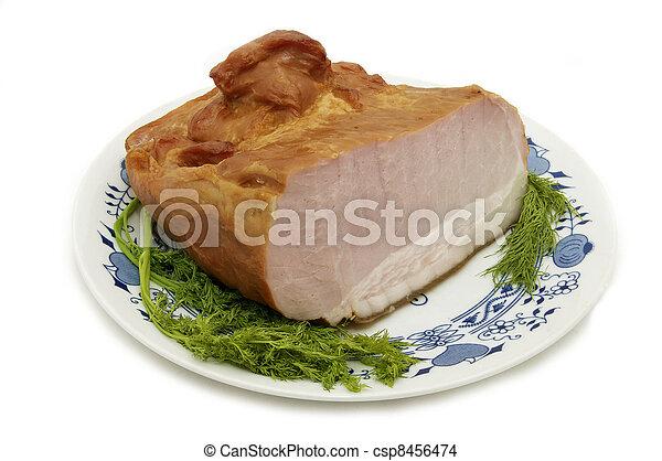 a piece of pork - csp8456474