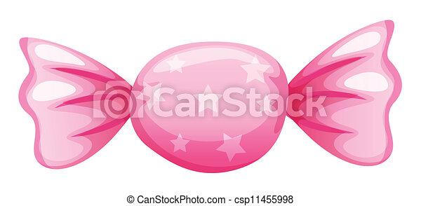 a pink candy - csp11455998