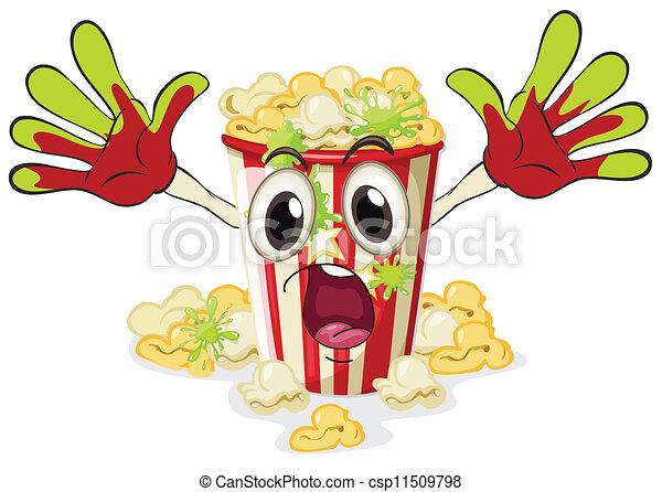 a popcorn - csp11509798