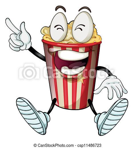 a popcorn - csp11486723