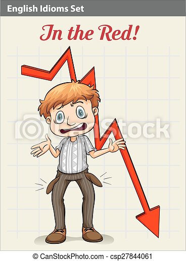 A poster showing a boy with an arrow - csp27844061