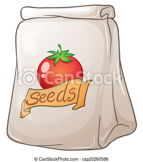A pouch of tomato seeds - csp20260586