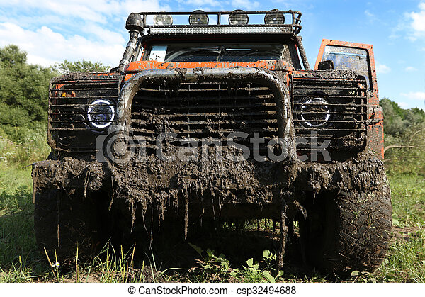 A real off-road vehicle - csp32494688