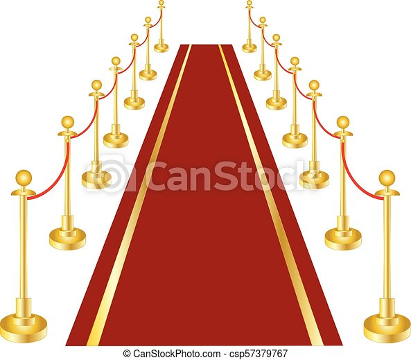 A red carpet - csp57379767