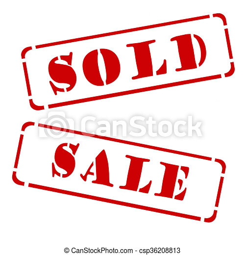 a red stamp sold and sale on a white background clipart search rh canstockphoto com house sold sign clipart sold sign clipart free