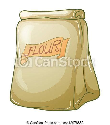 A sack of flour - csp13078853
