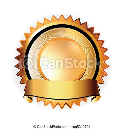 A Satisfaction Guaranteed seal. EPS 8 - csp5312704