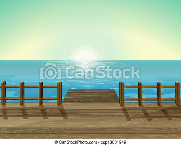 A sea scenery - csp13001949