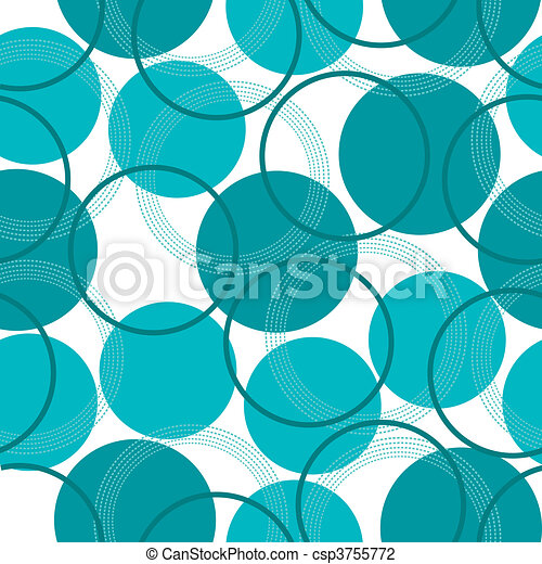 a seamless pattern with circles - csp3755772