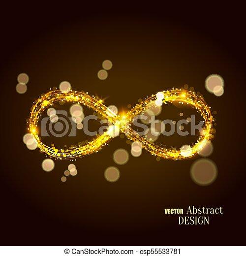 A Set Of The Shining Infinity Symbols The Shining Infinity Symbol