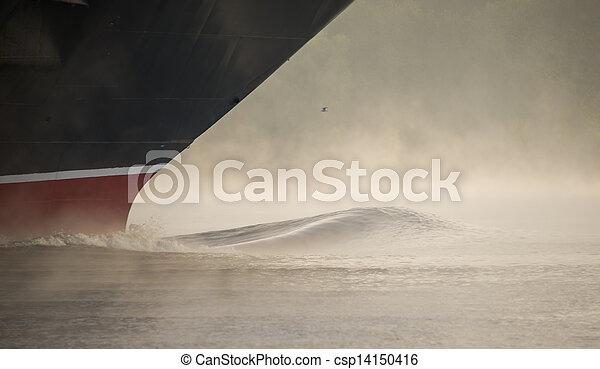 a ship's bow - csp14150416