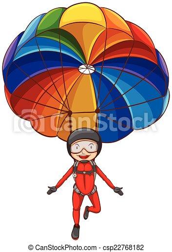 parachute illustrations and stock art 5 262 parachute illustration rh canstockphoto com parachute clipart clipart parachute