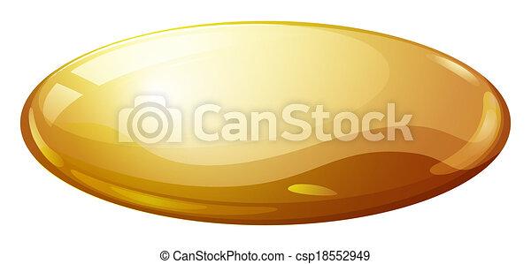 A soft-shelled medical capsule - csp18552949