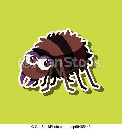A spider character sticker - csp69465443