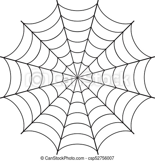 a spider web vector rh canstockphoto com spider vectorpark spider web vector free