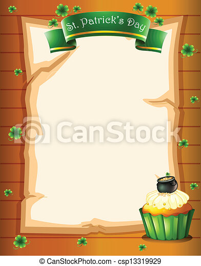 A stationery design for St. Patrick's day - csp13319929