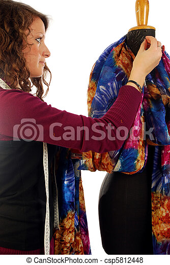 A tailor at work - csp5812448