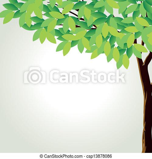 A tall tree - csp13878086