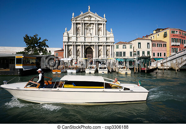 a taxi boat - csp3306188