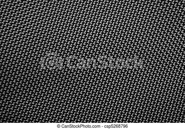 A tightly woven carbon fiber