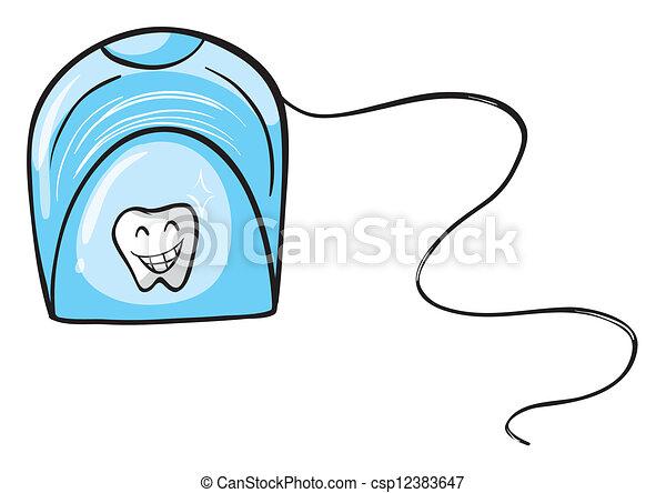 A tissue holder - csp12383647