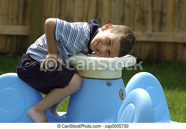A Toddler Smile - csp0005730