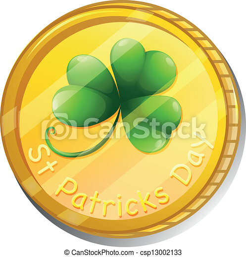 A token for St. Patrick's Day - csp13002133